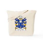 Llwn Hen Family Crest Tote Bag
