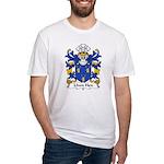 Llwn Hen Family Crest Fitted T-Shirt