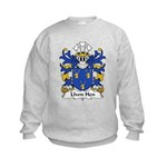 Llwn Hen Family Crest Kids Sweatshirt