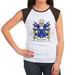 Llwn Hen Family Crest Women's Cap Sleeve T-Shirt