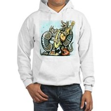 Unique A is for armadillo Hoodie