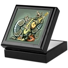 Cute Dillo Keepsake Box