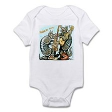 Funny Dillo Infant Bodysuit