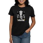 Lewis Family Crest Women's Dark T-Shirt