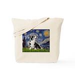 Starry Night / Welsh Corgi Tote Bag