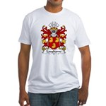 Laugharne Family Crest Fitted T-Shirt