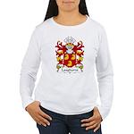 Laugharne Family Crest Women's Long Sleeve T-Shirt
