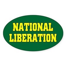 National Liberation Oval Decal