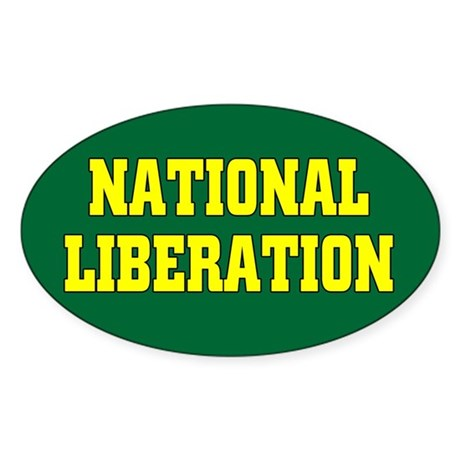 National Liberation Oval Sticker