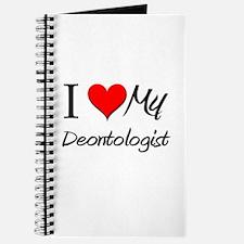I Heart My Deontologist Journal