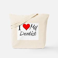 I Heart My Dentist Tote Bag