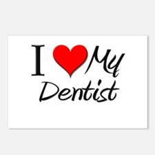 I Heart My Dentist Postcards (Package of 8)