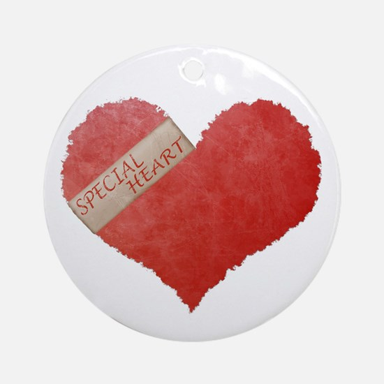 SPECIAL HEART Ornament (Round)