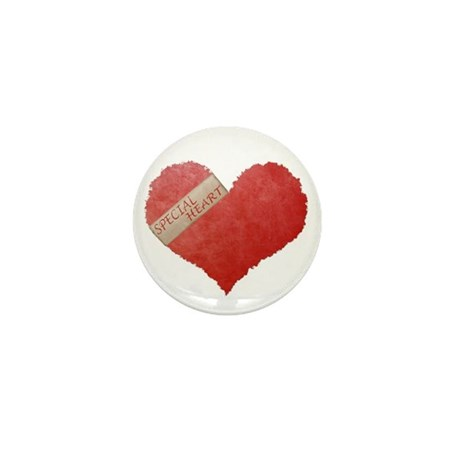 SPECIAL HEART Mini Button (10 pack)