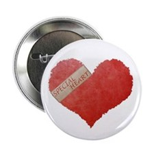 "SPECIAL HEART 2.25"" Button"