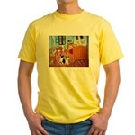 Room / Corgi pair Yellow T-Shirt