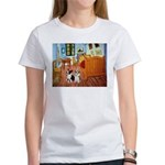 Room / Corgi pair Women's T-Shirt