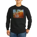 Room / Corgi pair Long Sleeve Dark T-Shirt