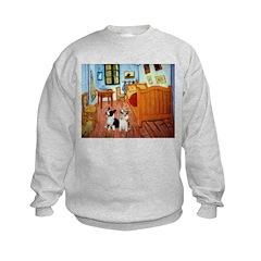 Room / Corgi pair Sweatshirt