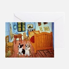 Room / Corgi pair Greeting Cards (Pk of 20)