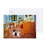 Room / Corgi pair Greeting Card