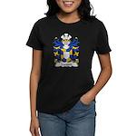 Landon Family Crest Women's Dark T-Shirt
