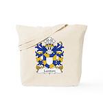 Landon Family Crest Tote Bag