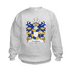 Landon Family Crest Kids Sweatshirt