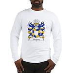 Landon Family Crest Long Sleeve T-Shirt