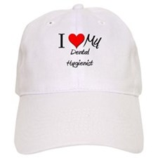 I Heart My Dental Hygienist Baseball Cap