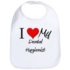 I Heart My Dental Hygienist Bib