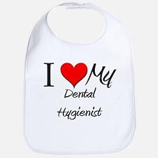 I Heart My Dental Hygienist Bib