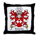 Knowles Family Crest Throw Pillow