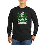 Kemeys Family Crest Long Sleeve Dark T-Shirt