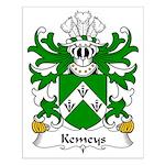 Kemeys Family Crest Small Poster