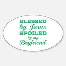 Cool Fun%2c god%2c blessed Sticker (Oval)