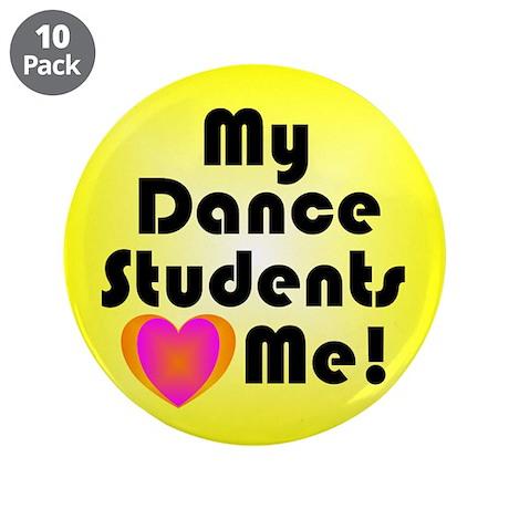 """Dance Teacher 3.5"""" Button (10 pack)"""
