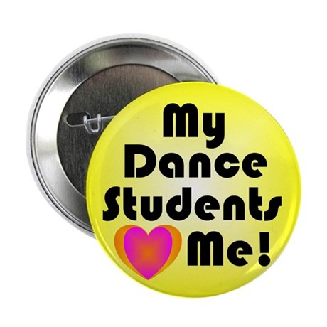 """Dance Teacher 2.25"""" Button"""