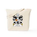 Jeffreys Family Crest Tote Bag
