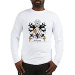 Jeffreys Family Crest Long Sleeve T-Shirt