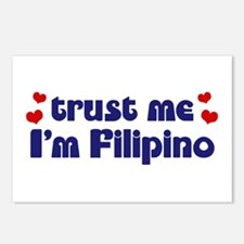 Trust Me I'm Filipino Postcards (Package of 8)