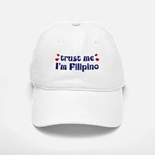 Trust Me I'm Filipino Cap