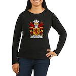 Ieuan Family Crest Women's Long Sleeve Dark T-Shir