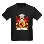 Ieuan Family Crest Kids Dark T-Shirt