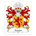 Ieuan Family Crest Small Poster