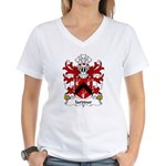Iarddur Family Crest Women's V-Neck T-Shirt
