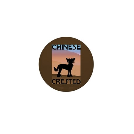 Craftsman Chinese Crested Mini Button (10 pack)