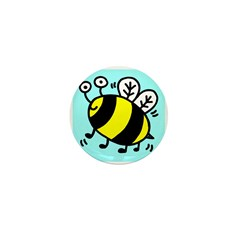 Bumble Bee Mini Button (100 pack)