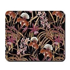 Orchid Print Mousepad