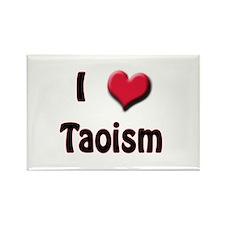 I Love (Heart) Taoism Rectangle Magnet